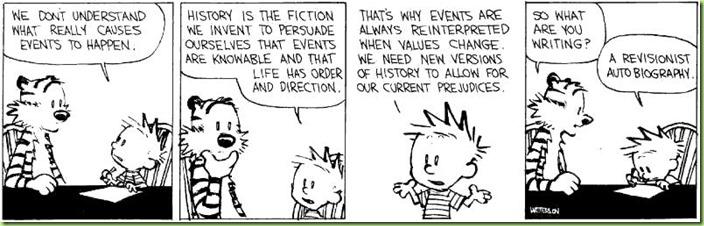 Calvin explains history