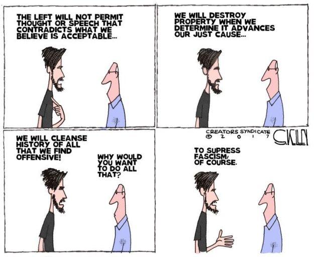Leftist fascists