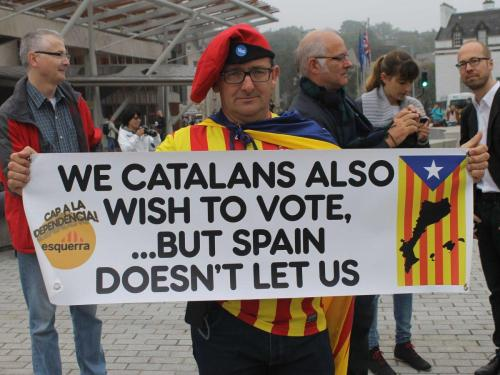 Catalan vote advocate. By Tomas Hirst