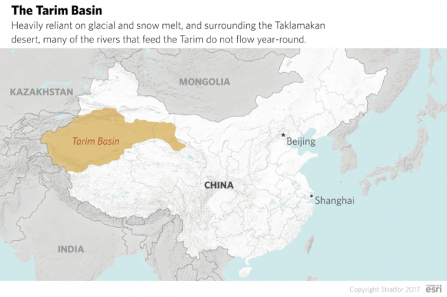 The Tarim Basin in China