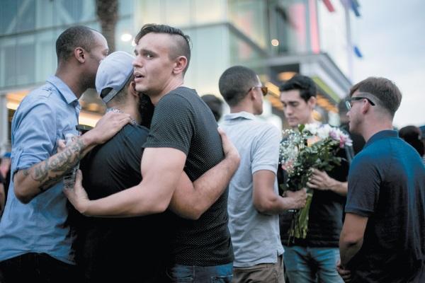 Vigil for victims of Pulse nightclub shooting