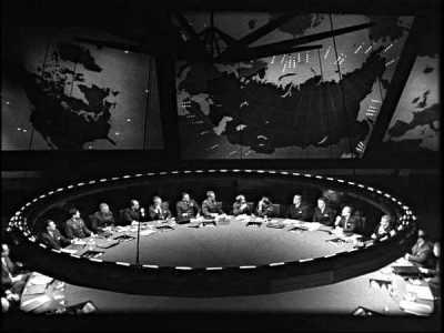 War Room in Dr. Strangelove