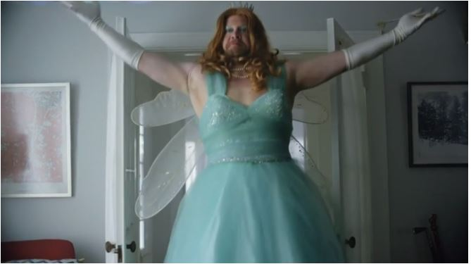 "JP Morgan's ""Fairy Dadmother"" commercial, 4 April 2016"