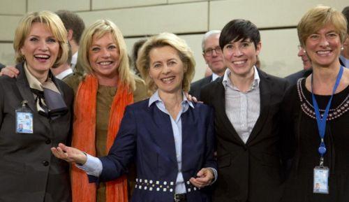 5 women NATO defense ministers