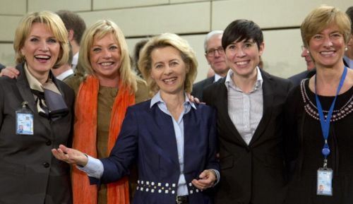 5 women NATO defense ministers