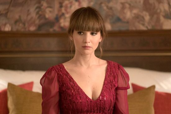 "Jennifer Lawrence in ""Red Sparrow."""