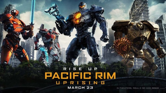 Pacific Rim: Uprising - poster