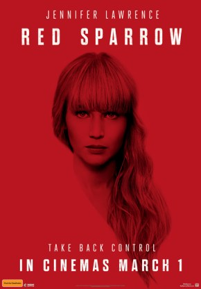 "Poster for ""Red Sparrow"""