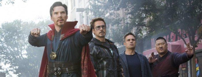 "Heroes in ""Avengers: Infinity War"""