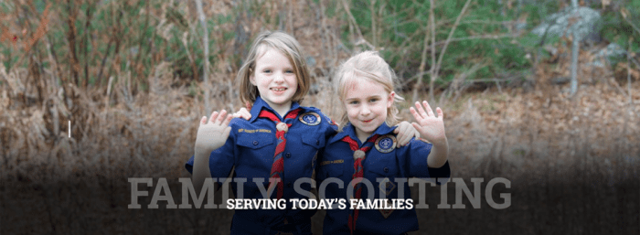 """Scout me in"" advertisement"