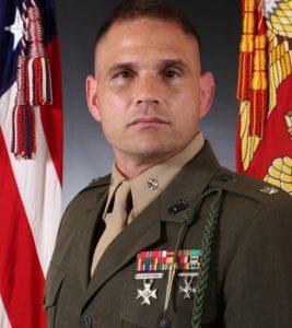 Marcus Mainz. Lt. Colonel, USMC