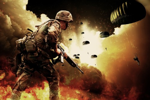 Soldier, Mercenary, Military Organization