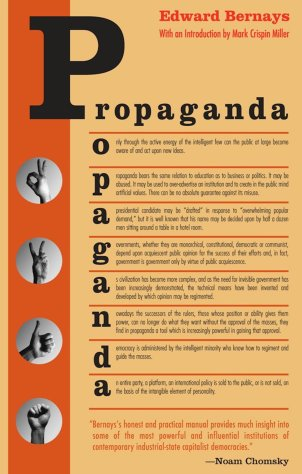 """""""Propaganda"""" by Edward Bernays."""