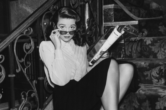 Dorothy Malone - the bookshop owner