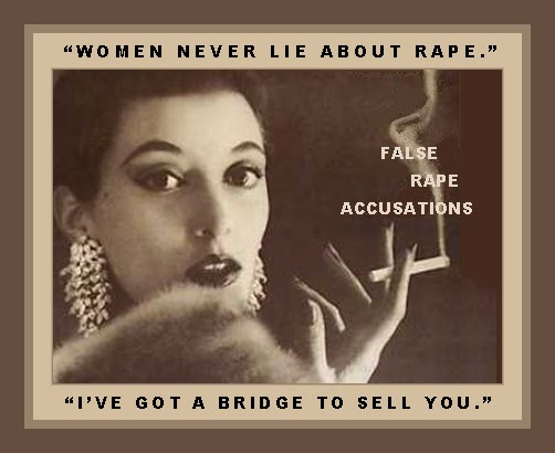 False rape accusations