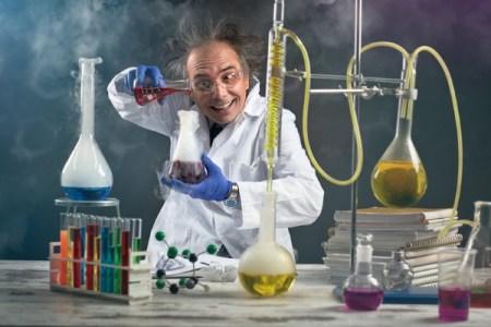 Mad Scientist - Dreamstime-99011265