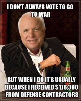 John McCain goes to war