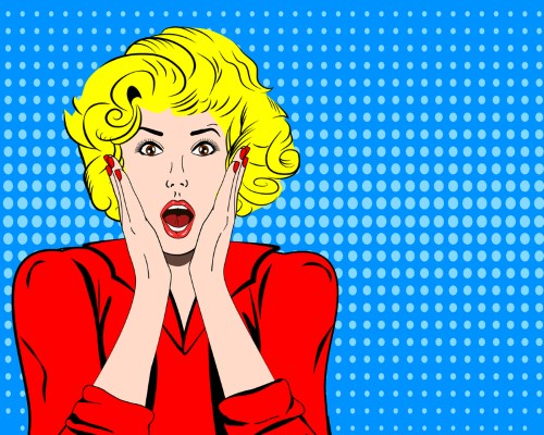 Shocked Women - dreamstime_s_73939426