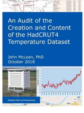 Audit of the HadCRUT4 Global Temperature Dataset