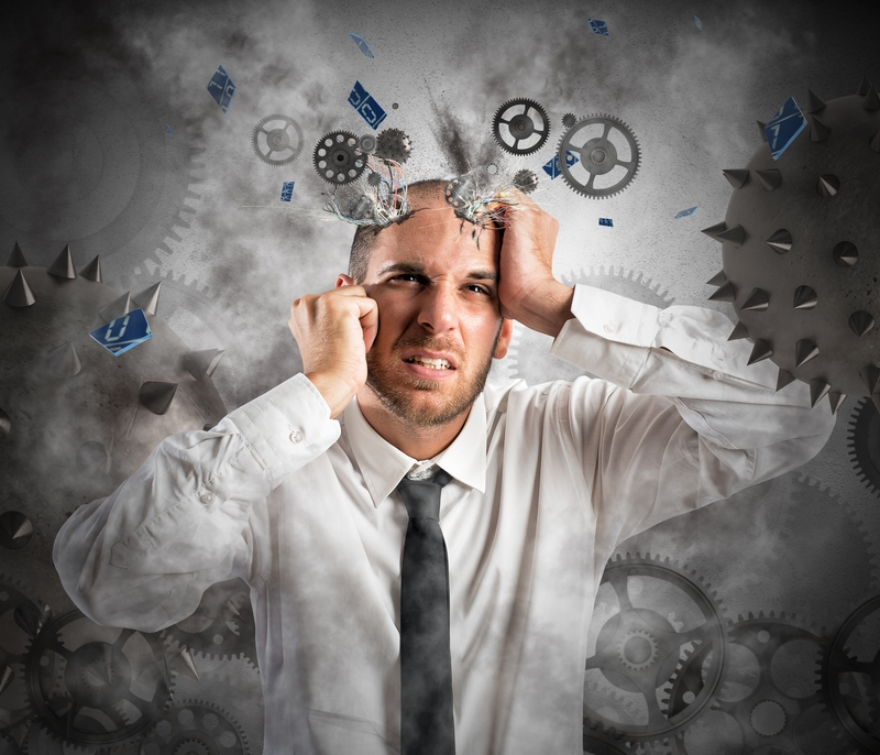 Delusional Man - dreamstime_45371680
