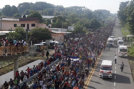 Migrant Caravan from Central America