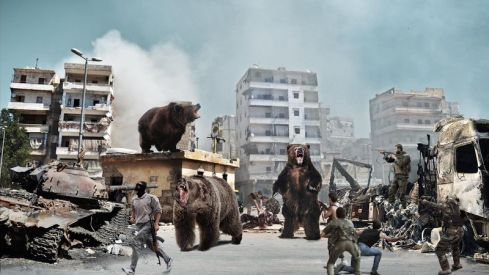 The Onion - Bear Invades Syria - 28 August 2013