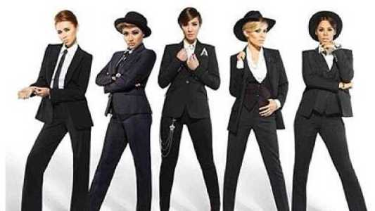 """Gentlemen"" from The Saturdays' album ""Living For The Weekend"""