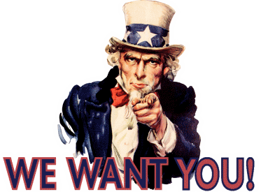 Uncle Sam: We want you!