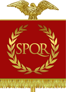 SPQR - the symbol of the Roman Republic