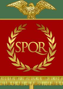 SPQR - the symbol of the Roman Republic