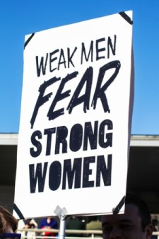 Weak Men Fear Strong Women
