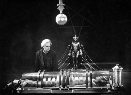 "Maria in Fritz Lang's ""Metropolis"" (1927)."
