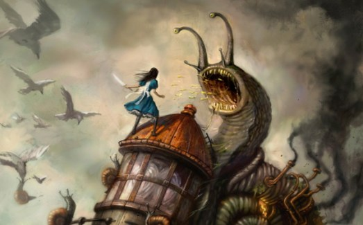 """From the """"The Art of Alice in Madness Returns"""" by R. J. Berg"""
