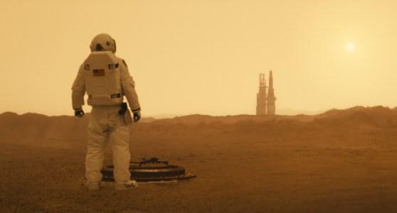 """Brad Pitt on Mars in """"As Astra"""""""