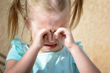 Little Girl Crying - Dreamstime-121361027