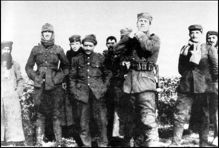 British and German Troops during the Christmas Truce of 1914