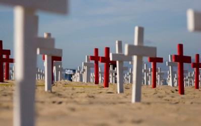 Field of Crosses - Dreamstime-22442535