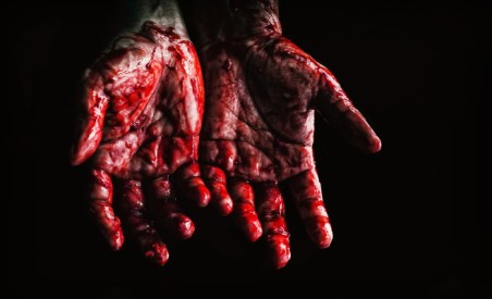 Bloody hands - Pexels-673862