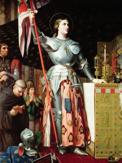 Joan of Arc at the Coronation