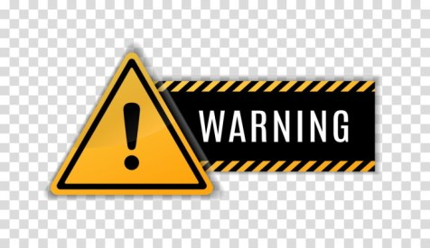 Warning sign - AdobeStock-315993220
