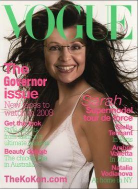 faux Vogue Cover