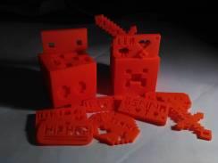 Créations 3D imprimées