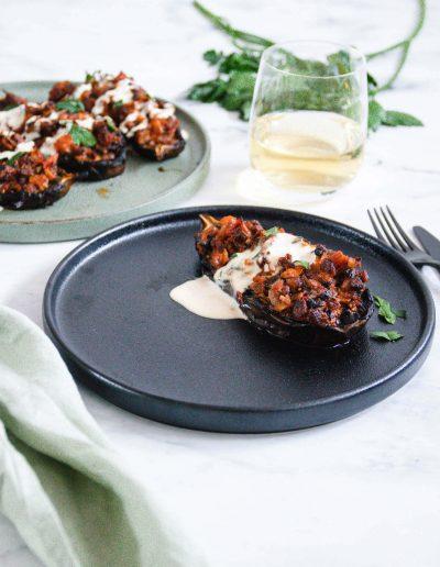 Smokey Baked Eggplant Fable x Mingle