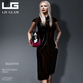 [LIV-Glam]-WINTER-2012- BALLANTYNE Dress SP2