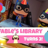 Fable's Library Is Now Three Years Old!!!!