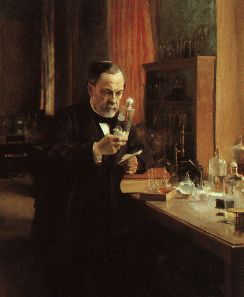 Portrait of Louis Pasteur