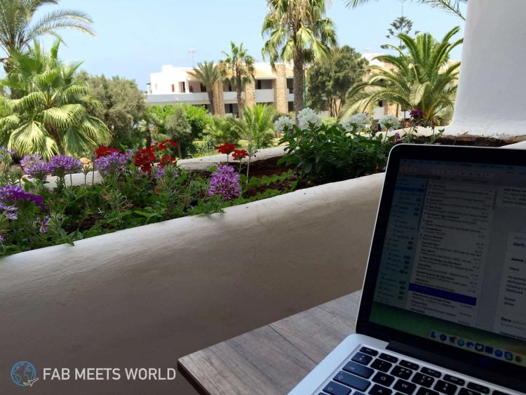 MacBook-Agadir-Morocco-Working