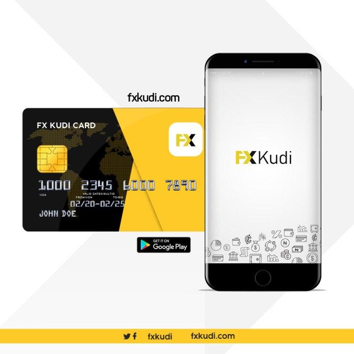 FXKudi Visa Card