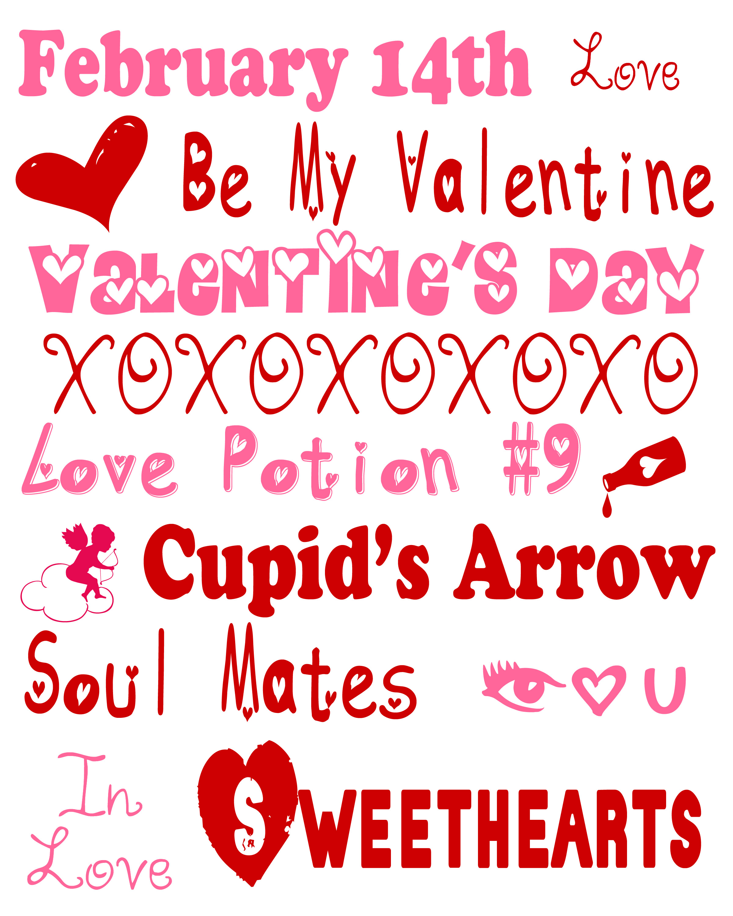 Valentine S Day Printables