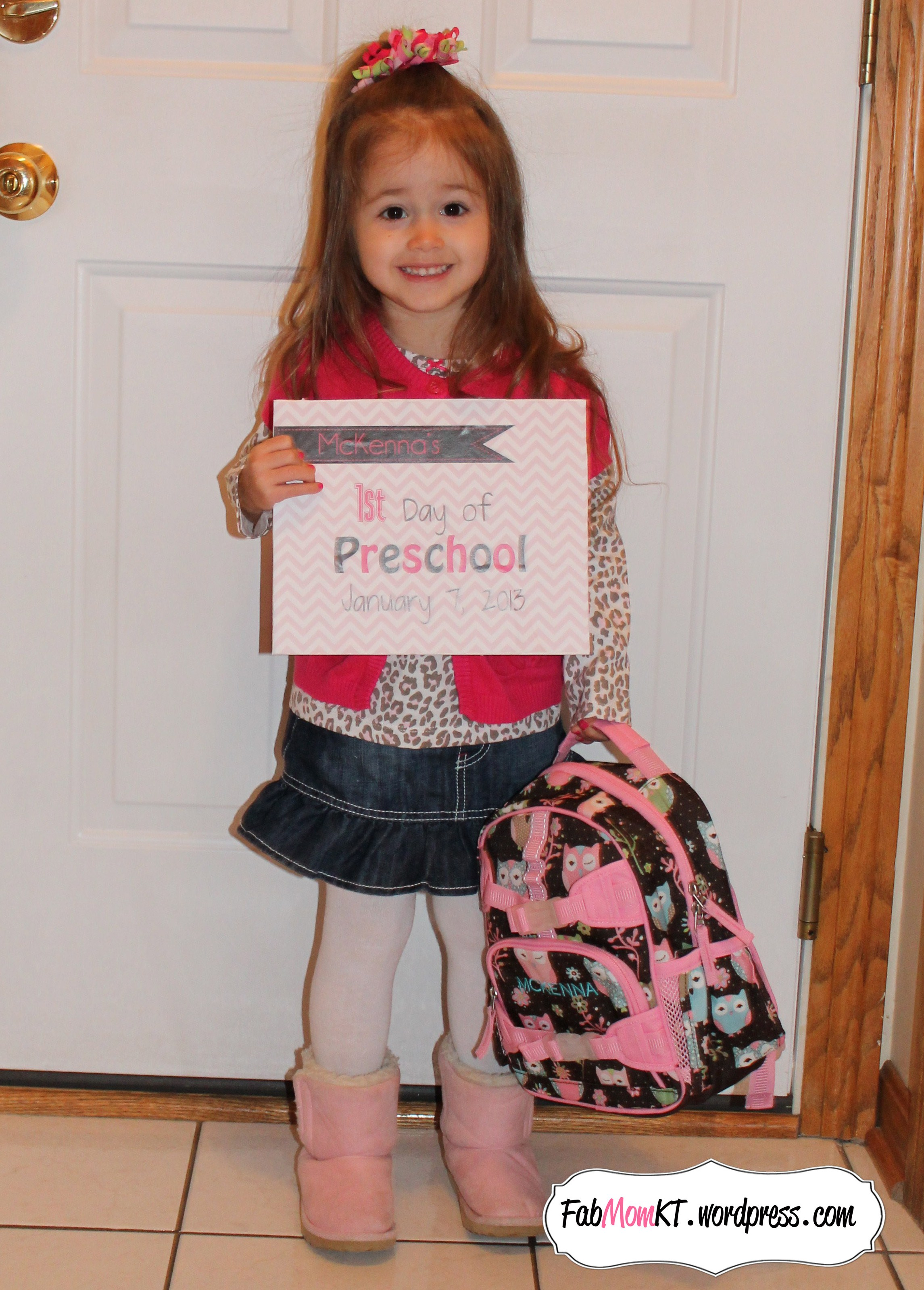 A New Milestone First Day Of School Printables